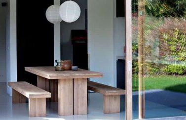 table-bancs-ethnicraft-teck