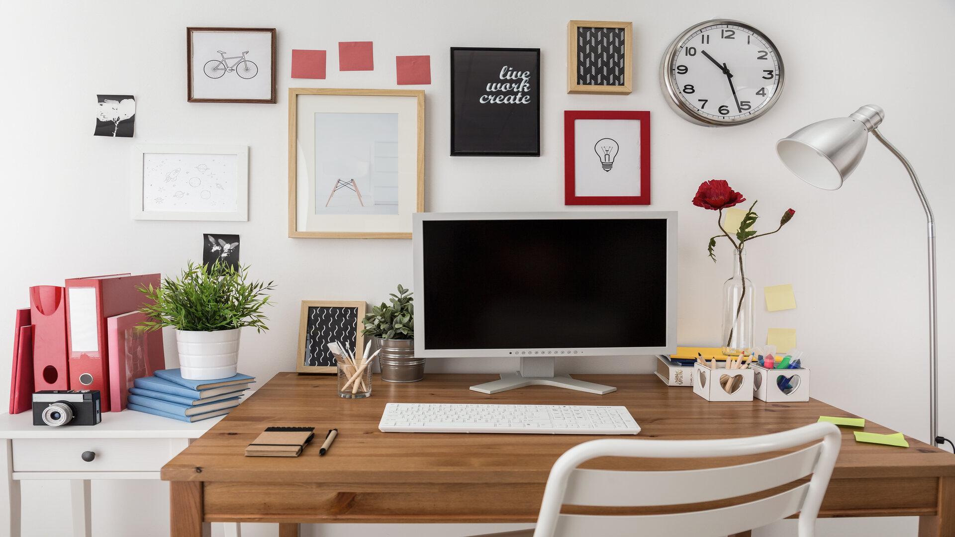 Bureau à la maison comment aménager son espace de travail home