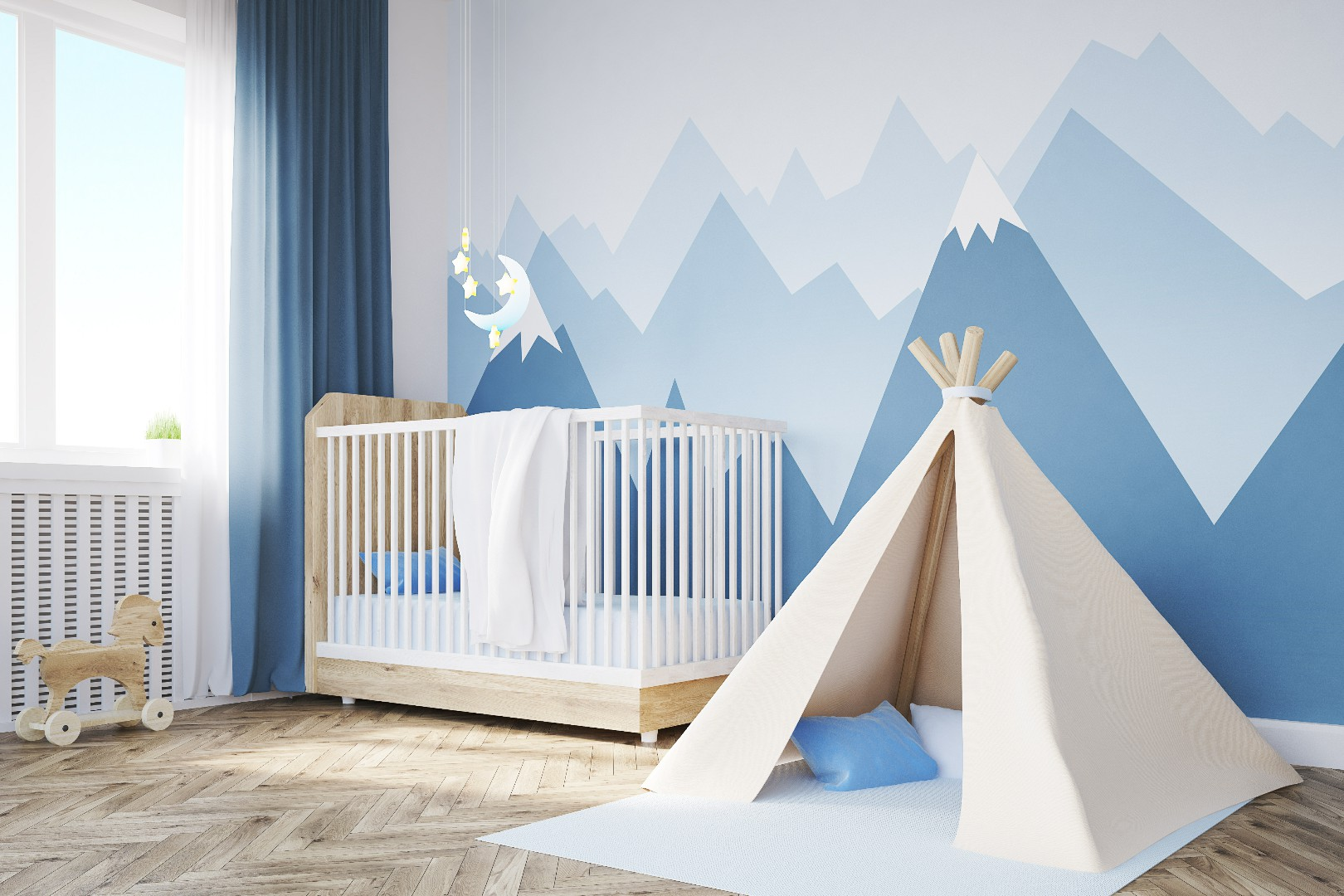 Comment d corer la chambre d un b b gar on home coaching - Decorer une chambre bebe ...