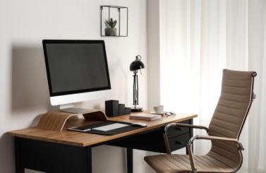 Mettre en place un bureau à domicile avec un petit budget
